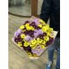 15 хризантем микс 3 цвета