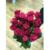 19 розовых роз Шангрила 60 см