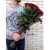 31 красная роза 70 см