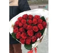 31 красная роза Эль Торо 60 см