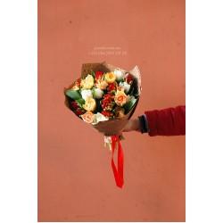 33 тюльпана микс