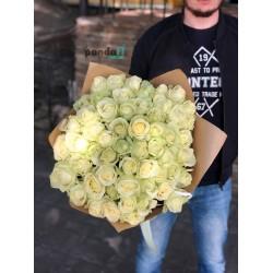 41 белая роза