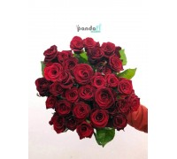 41 красная роза 70 см