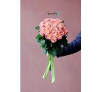 41 розовая роза Мисс Пигги 70 см