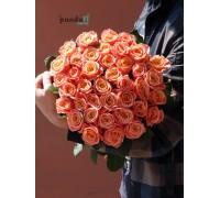 41 розовая роза Мисс Пигги 80 см