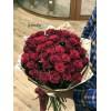 45 красных роз 70 см