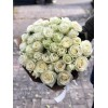 51 белая роза 60 см