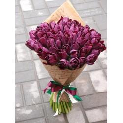 51 чернильный тюльпан