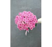 51 розовая роза Аква 50 см