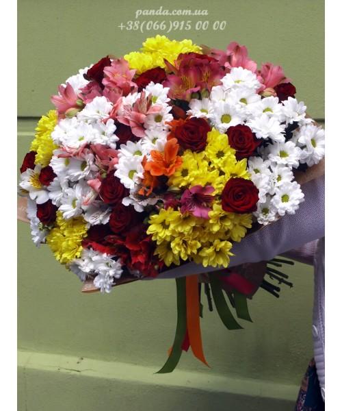 """Букет ассорти """"Облако цветов"""""""