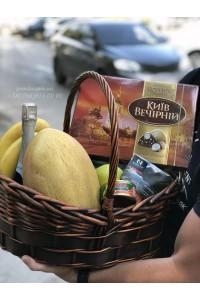 """Корзина фруктов """"Сладкая радость"""""""