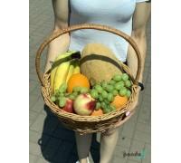 """Корзина с фруктами """"Любимой"""""""