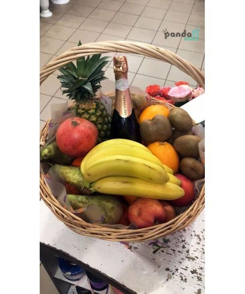"""Корзинка с фруктами """"Райский подарок"""""""