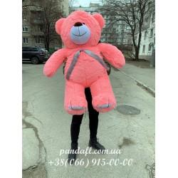 Мишка 130 см розовый