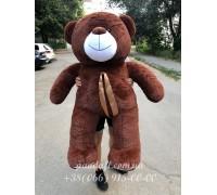 Мишка 160 см коричневый