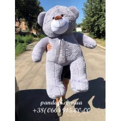 Мишка 160 см серый
