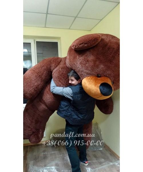 Мишка 300 см коричневый