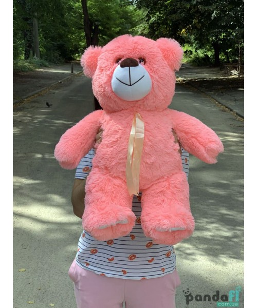 Мишка 60 см розовый