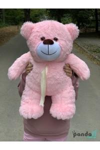 Мишка 70 см розовый