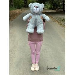 Мишка 70 см серый