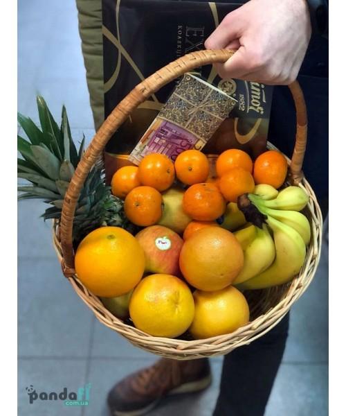 """Подарочные корзины с фруктами """"Радость"""""""